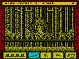 Ninja Spirit ZX Spectrum Game start