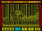 Ninja Spirit ZX Spectrum It's chaos!