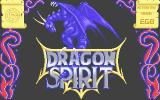 Dragon Spirit Atari ST Loading screen