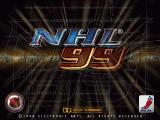 NHL 99 Windows Title Screen