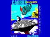 Carrier Command ZX Spectrum The title screen