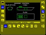 Carrier Command ZX Spectrum Damage control