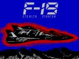 "F-19 Stealth Fighter ZX Spectrum On the box it's ""Project Stealth Fighter""; based on Testor model kit"