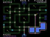 Pepper II ColecoVision The maze changes colors when you zip up a bonus