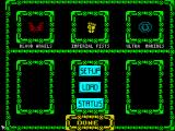 Space Crusade ZX Spectrum Team selection
