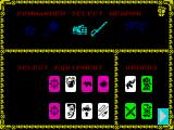 Space Crusade ZX Spectrum Selections for Commander