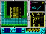 Space Crusade ZX Spectrum Ingame overhead view