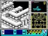 Space Crusade ZX Spectrum Ingame isometric view