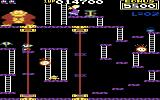 Donkey Kong Commodore 64 Lots of little platforms (US version)