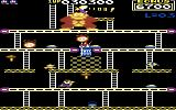 Donkey Kong Commodore 64 Running on a conveyor belt (US version)