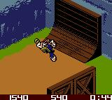 Dave Mirra Freestyle BMX Game Boy Color On top off the vert