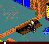 Dave Mirra Freestyle BMX Game Boy Color School backyard