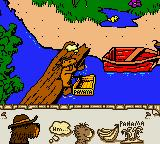 Janosch: Das große Panama Spiel Game Boy Color the bear finds the banana chest from Panama