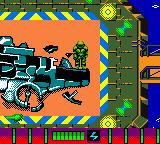 Armorines: Project S.W.A.R.M. Game Boy Color In the hangar level