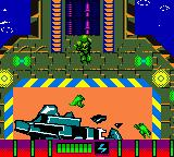 Armorines: Project S.W.A.R.M. Game Boy Color Leaving the hangar level to the next stage