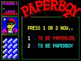 Paperboy 2 ZX Spectrum Gender bending