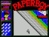 Paperboy 2 ZX Spectrum On the road