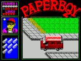 Paperboy 2 ZX Spectrum That bus ran me over