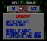 SWAT Kats: The Radical Squadron SNES Level mission