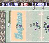 Tecmo Super Bowl SNES Snowy game...