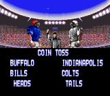 Tecmo Super Bowl SNES Coin toss