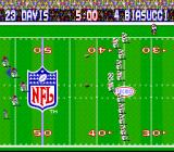 Tecmo Super Bowl SNES Kick off