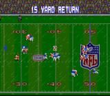Tecmo Super Bowl SNES It's difficult to play while it's raining