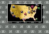 Tecmo Super Bowl II: Special Edition Genesis Team list is now on a nice USA map