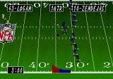 Tecmo Super Bowl II: Special Edition Genesis Kick off in the rain