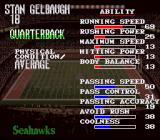 Tecmo Super Bowl II: Special Edition SNES Player data