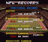 Tecmo Super Bowl II: Special Edition SNES Viewing NFL records