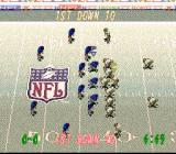 Tecmo Super Bowl II: Special Edition SNES Starting position in snow