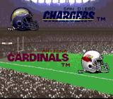 Tecmo Super Bowl III: Final Edition SNES Before the confrontation...