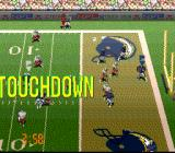 Tecmo Super Bowl III: Final Edition SNES Touchdown. Simple and elegant