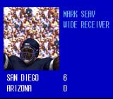 Tecmo Super Bowl III: Final Edition SNES You see this small cut scene when you manage to score