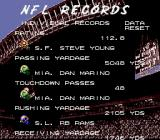 Tecmo Super Bowl III: Final Edition Genesis NFL records