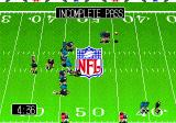 Tecmo Super Bowl III: Final Edition Genesis Incomplete pass. Pity
