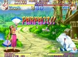 Kabuki Klash Neo Geo Be sure that Kinu and her pet Shiro must defeat Yagumo's fans to stand a chance... ;-D