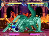 Kabuki Klash Neo Geo Beware with Lucifeller: any moves and counter-attacks made by him will be massive!
