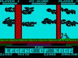 The Legend of Kage ZX Spectrum Bringing you in to start