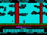 The Legend of Kage ZX Spectrum Ready to shoot them down