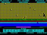 The Legend of Kage ZX Spectrum Level 2