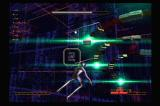 Rez PlayStation 2 Boss battles test your reflexes and patterns.