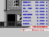 Prohibition ZX Spectrum Title scrolly and high scores