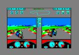 Grand Prix 500 cc Amstrad CPC The green player just had a crash