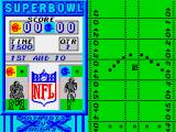 Super Bowl ZX Spectrum The initial kickoff