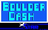 Boulder Dash Amstrad CPC Title screen