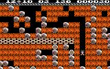 Boulder Dash Amstrad CPC Gameplay on the first level