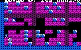 Boulder Dash Amstrad CPC Collect the diamond, and watch out for that deadly box!