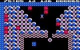 Boulder Dash Amstrad CPC I created a diamond and boulder avalanche